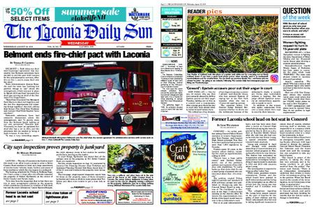 The Laconia Daily Sun – August 28, 2019