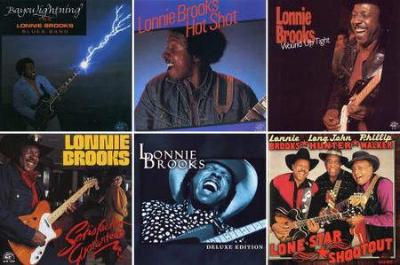 Lonnie Brooks - Albums Collection 1979-1999 (6CD) [Re-Up]