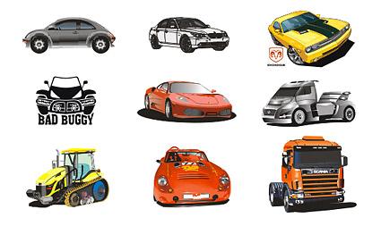 Cool car vector