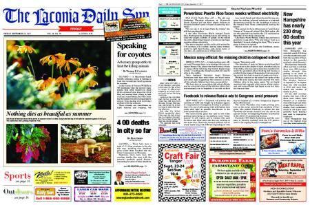 The Laconia Daily Sun – September 22, 2017