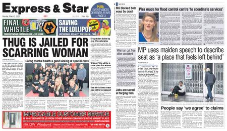 Express and Star City Edition – March 02, 2020