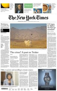 International New York Times - 12-13 January 2019