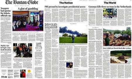 The Boston Globe – March 19, 2019