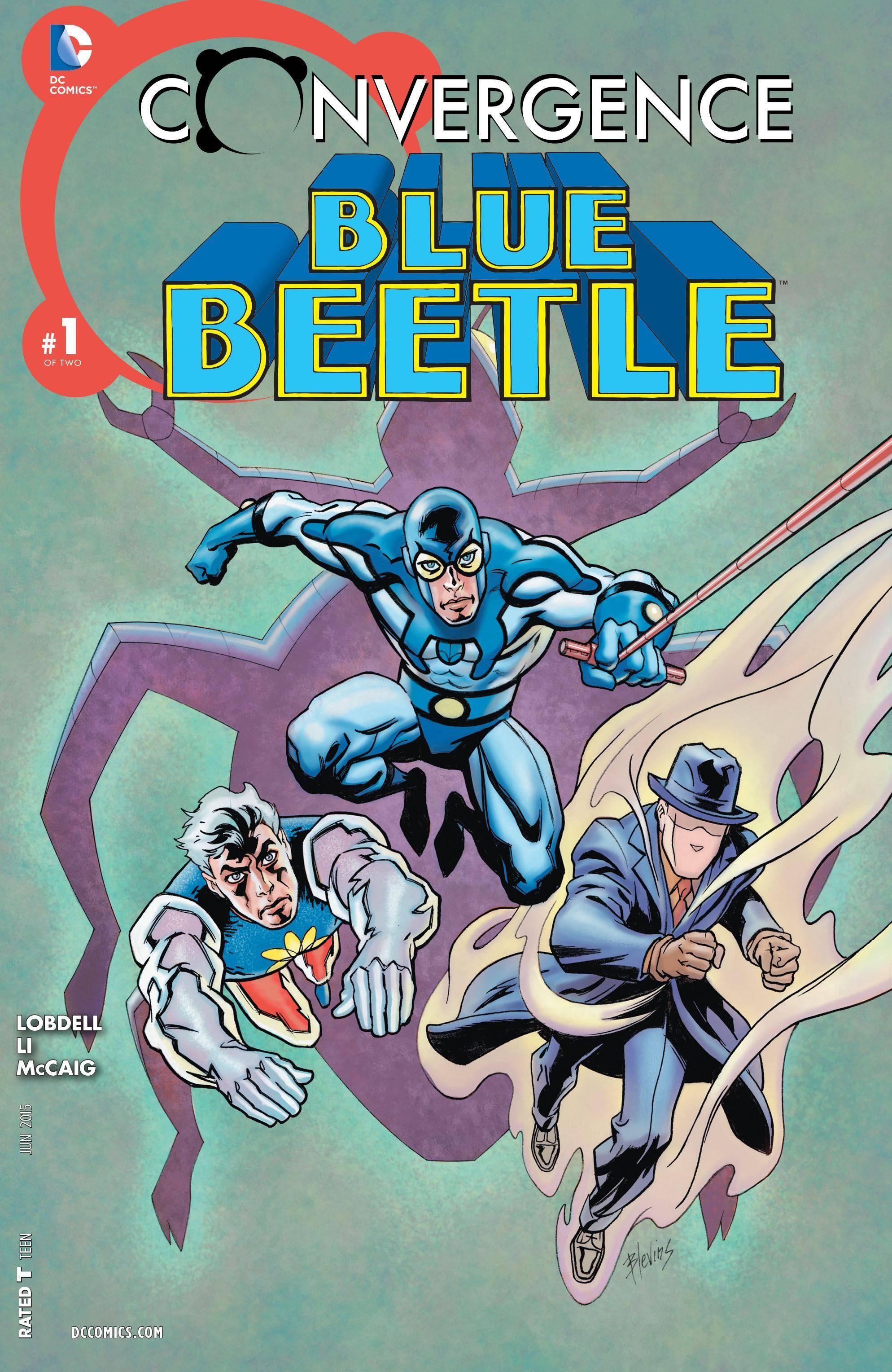Convergence - Blue Beetle 001 2015 Digital