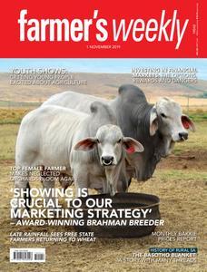 Farmer's Weekly - 01 November 2019
