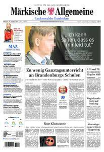 Märkische Allgemeine Luckenwalder Rundschau - 18. Oktober 2017