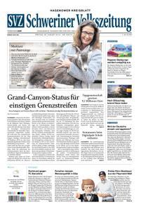 Schweriner Volkszeitung Hagenower Kreisblatt - 30. August 2019