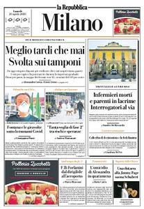 la Repubblica Milano - 20 Aprile 2020