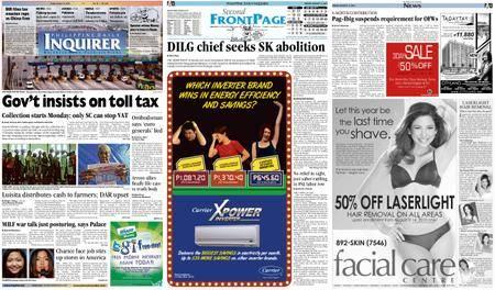 Philippine Daily Inquirer – August 13, 2010