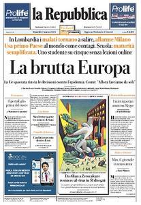 la Repubblica - 27 Marzo 2020