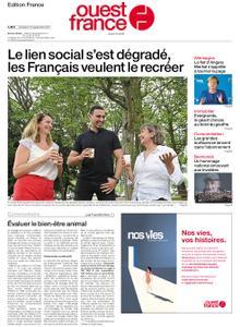 Ouest-France Édition France – 10 septembre 2021