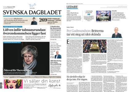 Svenska Dagbladet – 16 januari 2019