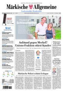 Märkische Allgemeine Luckenwalder Rundschau - 26. September 2018