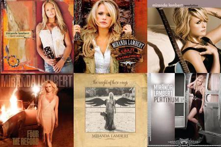 Miranda Lambert - The Studio Album Collection (2005-2016) [Official Digital Download]