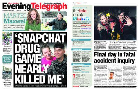 Evening Telegraph First Edition – February 07, 2018