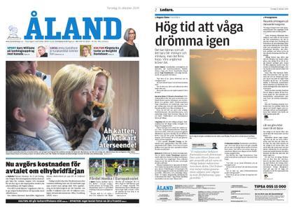 Ålandstidningen – 31 oktober 2019