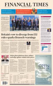 Financial Times Europe – 20 January 2020