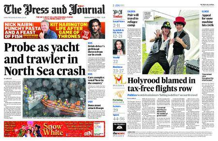The Press and Journal Moray – October 21, 2017
