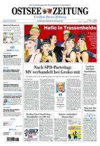 Ostsee Zeitung Wolgast - 22. Januar 2018