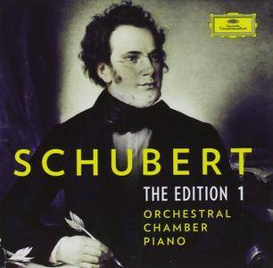 Schubert - The Edition 1: Orchestral; Chamber; Piano [Limited Edition 39 CD Box Set] (2016)