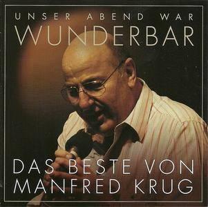 Manfred Krug - (Unser Abend war) Wunderbar! Das Beste von Manfred Krug (2CD) (2016)