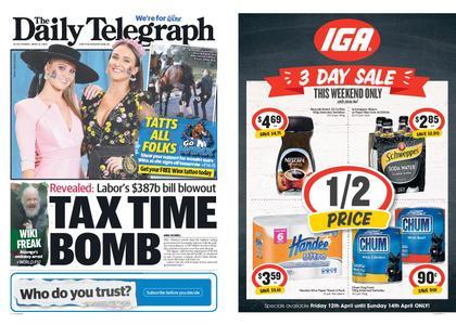 The Daily Telegraph (Sydney) – April 12, 2019