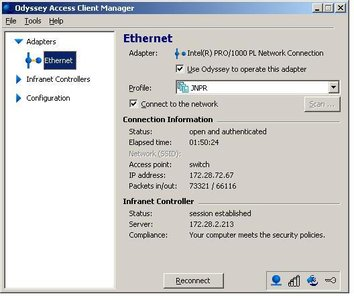 Juniper Networks Odyssey Access Client Manager 5 60 27023 0