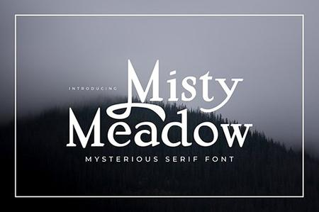 Misty Meadow - Mystical Serif Font