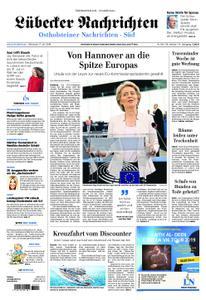 Lübecker Nachrichten Ostholstein Süd - 17. Juli 2019