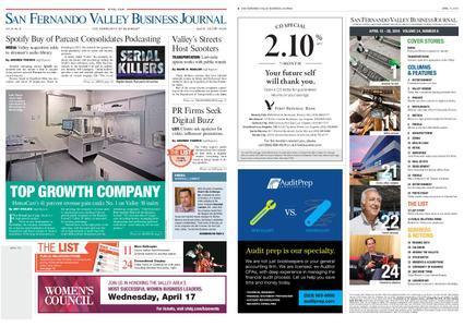 San Fernando Valley Business Journal – April 15, 2019