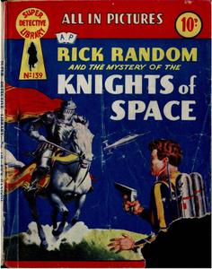 Super-Detective Library 139-Rick Random and the Msyety of the Knights in Space Bogof39
