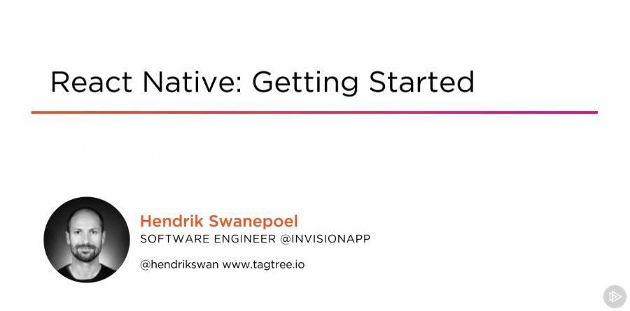 React Native: Getting Started / AvaxHome