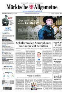Märkische Allgemeine Luckenwalder Rundschau - 25. Januar 2018