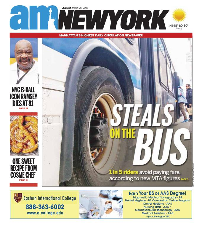AM New York - March 26, 2019