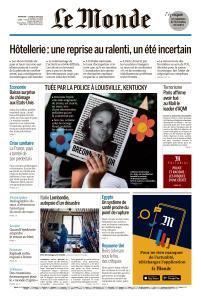 Le Monde du Dimanche 7 et Lundi 8 Juin 2020