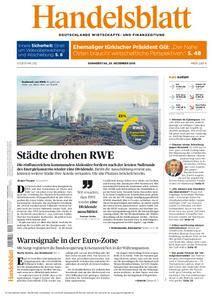 Handelsblatt - 29. Dezember 2016