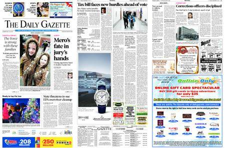 The Daily Gazette – December 15, 2017