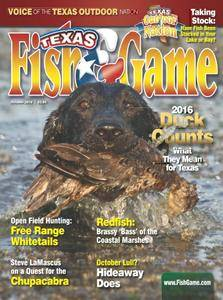 Texas Fish & Game - October 2016
