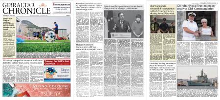 Gibraltar Chronicle – 13 July 2021