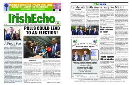 The Irish Echo – May 29, 2019