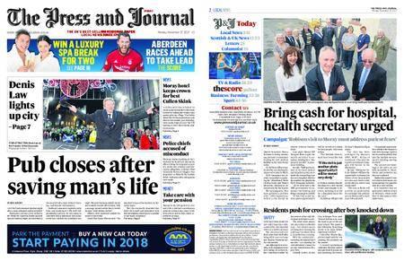 The Press and Journal Moray – November 27, 2017