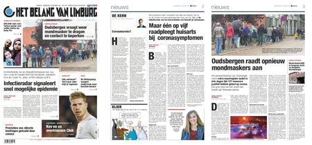 Het Belang van Limburg – 20. oktober 2021