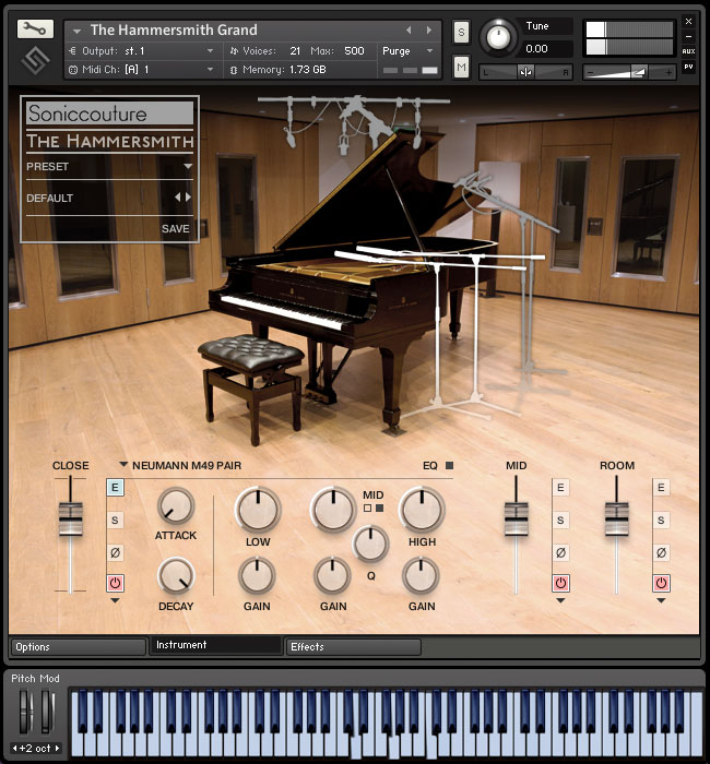 Soniccouture The Hammersmith Professional Edition v2.3 KONTAKT