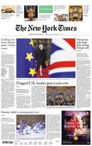 International New York Times - 16-17 December 2017