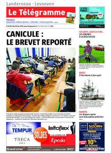 Le Télégramme Landerneau - Lesneven – 25 juin 2019