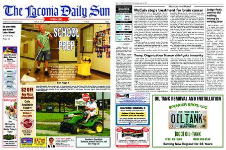 The Laconia Daily Sun – August 25, 2018