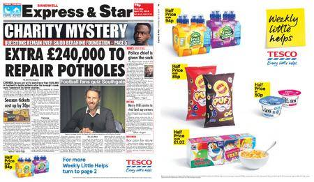Express and Star Sandwell Edition – April 19, 2018