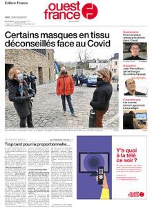 Ouest-France Édition France – 19 janvier 2021