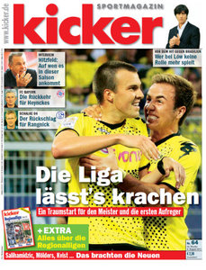 Kicker Magazin No 64 vom 08 August 2011