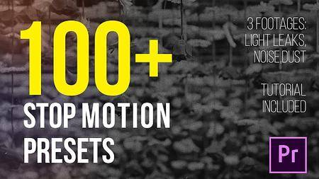 Stop Motion Presets - Add ons for Premiere Pro (VideoHive)